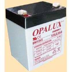 Baterias selladas de Plomo-Acido OPALUX DH-1245, especiales para Luces de emergencia, filmadoras, paneles de alarma, robótica, Proyectos electrónicos, ETC.