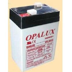 Baterias selladas de Plomo-Acido OPALUX DH-640, especiales para Luces de emergencia, filmadoras, paneles de alarma, robótica, Proyectos electrónicos, etc.